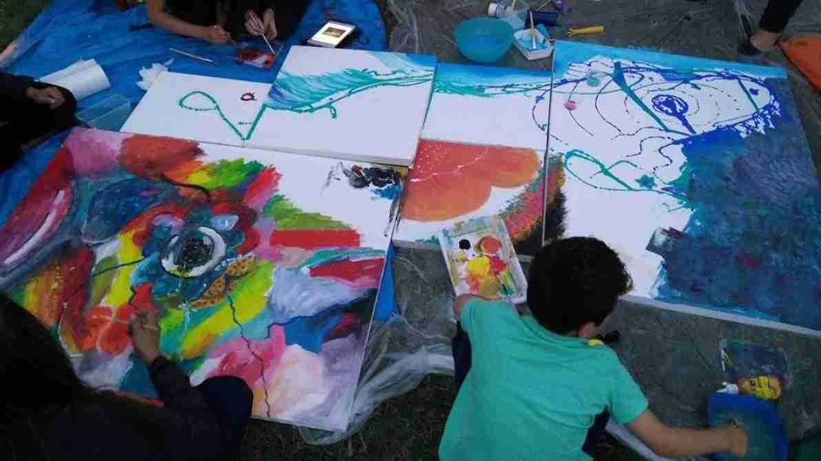 Community art-making